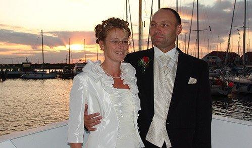 Heiraten Auf Dem Schiff An Der Ostsee Nahe Rostock Und Wismar